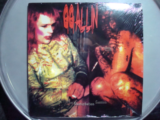 GG Allin masturbation session