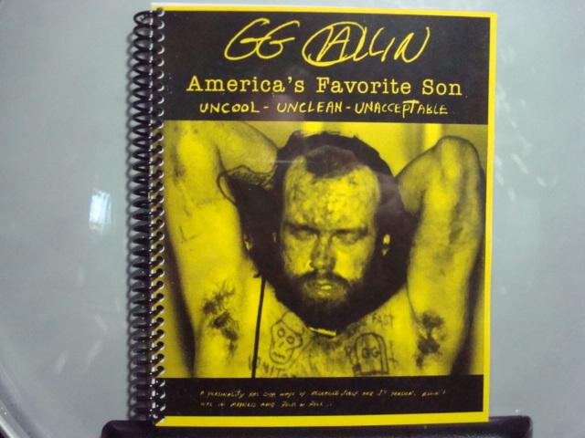GG Allin-- America's Favorite Son