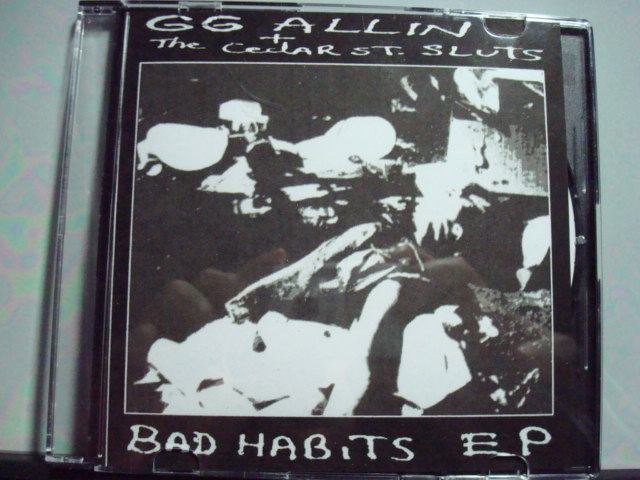 GG ALLIN & THE CEDAR STREET SLUTS 