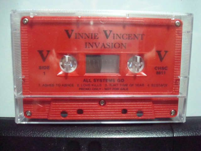 Vinnie Vincent Invasion Fan Club Merchandise And Music For