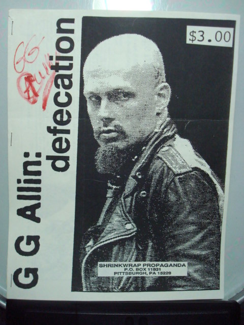 GG Allin-- Defecation