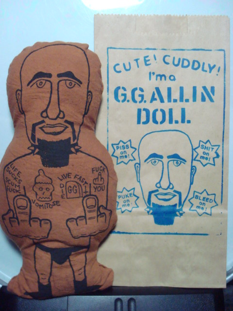GG Allin-- Pillow Doll