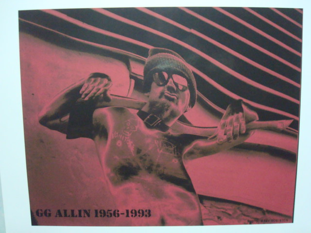 GG Allin-- color print