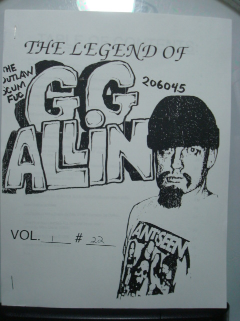 Legend Of GG ALLIN