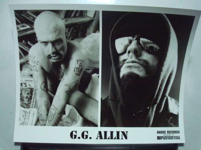 GG ALLIN photo