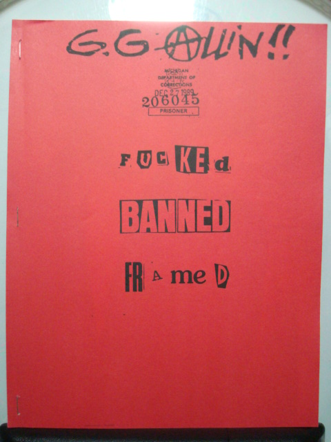 banned framed