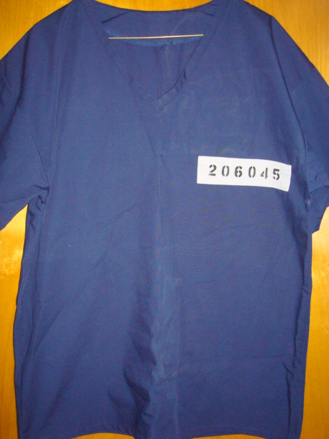 GG Allin Jackson State Prison SHIRT
