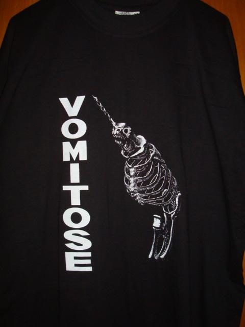 VOMITOSE drill logo shirt